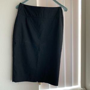 Classic black pencil skirt size 2 from Target